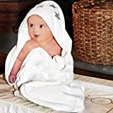 Best Bath Towel For Baby Girls - Luxury baby or toddler hooded cotton bath towel Review
