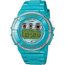 CASIO BABY-G BGD1212ER - Reloj de cuarzo con correa de resina para mujer, color turquesa