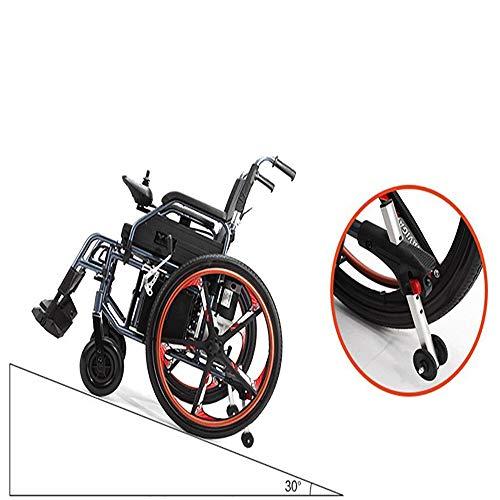 Leichter faltbarer elektrischer Rollstuhl der Mode-2019, tragbarer Durchfahrt-Reisestuhl, für den behinderten und älteren Motor 320W kann 150KG tragen