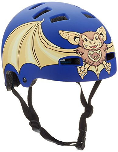 TSG, Casco Bambino Nipper Graphic Design Mini, Blu (Bat), XXS/XS