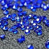 Spacer gezichta Acryl Farbe Faux Diamant Rund Kristalle Treasure Gems für Tisch Scatter, Vase, Tütenfüller, Event, Hochzeit, Geburtstag Dekoration Favor, Arts & Crafts, dunkelblau, 2 bags (2000pcs)