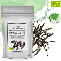 Grüner Tee Japan Kabusecha 2. Pflückung - BIO, 100 Gramm, (100% japanischer Grüntee aus kbA)