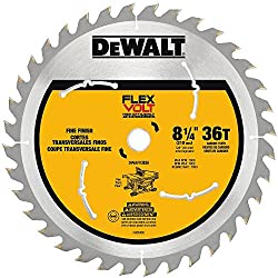 "Dewalt Dwafv3836 Flexvolt 36t Table Saw Blade, 8-14"""