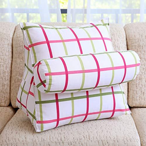 HIZ Coussin de canapé Coussin Coussin de tête réglable tête de canapé canapé-lit Chaise de Bureau Coussin de Soutien du Cou Reste Lavable (Taille : 47 * 40 * 25cm, Style : StyleA)