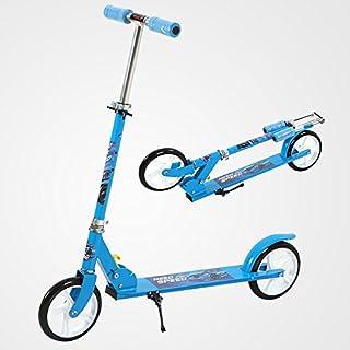 UEnjoy SUNCOO Scooter Roller Kickscooter Klappbar Kinderroller Tretroller Kinderscooter Typ2 Blau