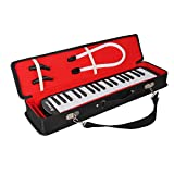 Amosic Melodica 37 Tasten Standardton Klaviertastatur für das Unterricht und Spielen mit einer Tragetasche, Kinder Musik Geschenk