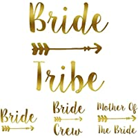 MYOG Bride Tribe Iron On T Shirt Transfer Bride Team Crew Squad To Be Hen Do VINYL