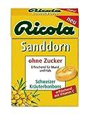 Ricola Sanddorn ohne Zucker Böxli
