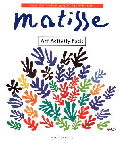 Art Activity Pack: Matisse (Art Activity Packs) -