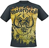 Motörhead Acid Splatter T-Shirt Black L