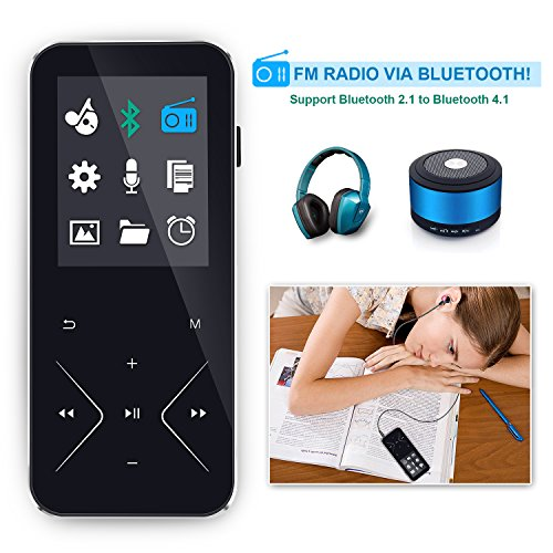 KLANGTOP 8GB Bluetooth MP3 Player