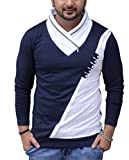 Black Collection Boys' Cotton T-Shirt (Bcsa0016_Naveblue_Full_L_Navy Blue_Large)