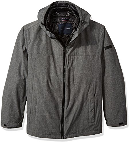 Tommy Hilfiger Herren Big Mountain Cloth 3-in-1 Systemjacke - grau - 3X Groß -