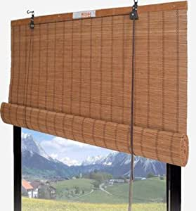 Buy Bamboo Roll Up Shade Window Blind 30 W X 72 H 67