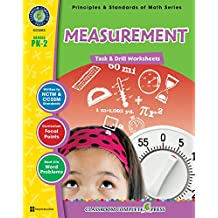 Measurement - Task & Drill Sheets Gr. PK-2 (English Edition)