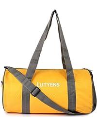 Lutyens Yellow Grey Hand Bag II Multiuse bag II Smart Tuition Bag II Quality Gym Bag(21 Ltr) (Lutyens_206)