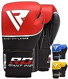 RDX Guantes de Boxeo Kick Boxing Muay Thai Sparring Saco Entrenamiento...