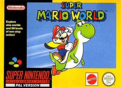 Super Mario World SNES Super Nintendo Entertainment System (Pal) from Nintendo