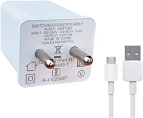 Hi Speed Mobile Charger for Oppo F1s / F3/Plus, F5/Youth, F7, A83, A37f, A37, A71, A57(White)