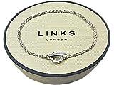 """LINKS OF LONDON Sterling Silver T Bar Chain Bracelet 18cm/7"""" Medium"""