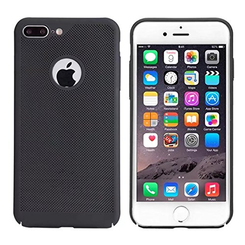 iPhone 7 Plus H¨¹lle,iPhone 8 Plus H¨¹lle,Valenth Sto?- Schlagschutzma?nahmen schwer zur¨¹ck H¨¹lle Cover f¨¹r iPhone 7 Plus / 8 Plus Schwarz