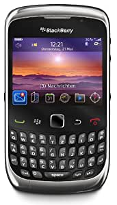 BlackBerry Curve 3G 9300 Smartphone (6,25 cm (2,5 Zoll) Display, Bluetooth, 2 MP Kamera, QWERTZ-Tastatur) graphite grey