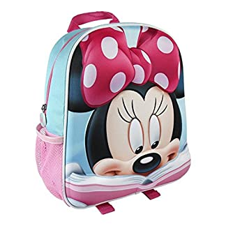 Mochila Infantil de Minnie con Relieve 25x31x10 cm