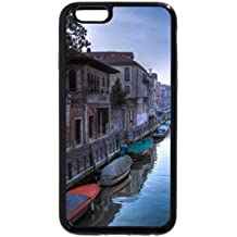 iPhone 6S / iPhone 6 Case (Black) wonderful venice channel in the morning