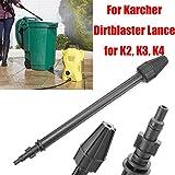 SAFETYON 150BAR Blaster lance ugello rotante alimentazione ad alta pressione auto pistola a spruzzo a getto lancia Turbo Clean ugello per Karcher K2, K3, K4