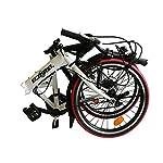 ECOSMO-5080-cm-20-Bicicletta-pieghevole-da-citt-21SP-20F03W