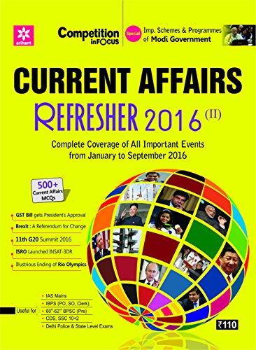 Current Affairs Refresher (E)
