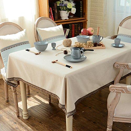 New One Day-Cotone tovaglia di lino moderno tovaglia semplice tè tovaglia tovaglia rettangolare , 140*220cm