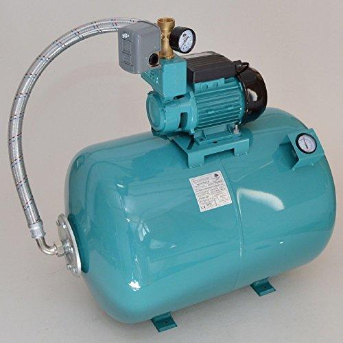 100 L con pompa acqua giardino automatica Luftdruckmano acquedotto domestico pompa 750W