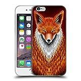 Head Case Designs Fuchs Pelzige Tiere Soft Gel Hülle für iPhone 6 / iPhone 6s
