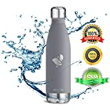Aorin Trinkflasche Edelstahl doppelwandig 500ml - 2