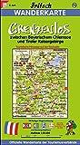 Fritsch Karten, Nr.95, Grenzenlos zwischen König und Kaiser, Bayerischem Chiemsee und Tiroler Kaisergebirge (Fritsch Wanderkarten 1:50000)