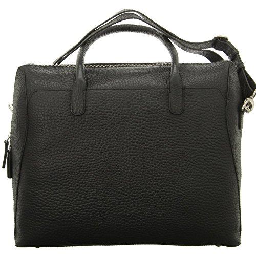 Voi Leather Design Laptoptasche Schwarz