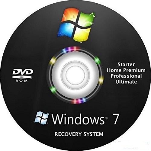 Windows 7 Home Premium Recovery - Repair DVD disc 32 & 64 bit