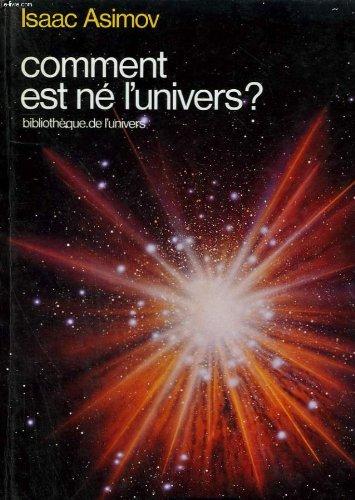 Comment est né l'univers?