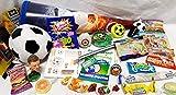 101609 Schultüte Fussball 35cm gefüllt mit Spielsachen & Schulbedarf Zuckertüte als Geschenk zum Schulanfang