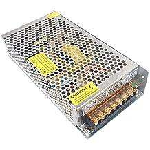 Redrex DC 12V 10A Universal Regulada Conmutación Adaptador de Alimentación de Transformador Para Tira LED Luces Equipo de Circuito Cerrado de Televisión Sistema de Seguridad de Proyecto