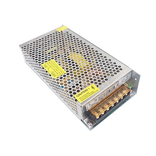 Redrex DC 12V 10A Commutation Adaptateur Transformateur d'alimentation Universal Regulated pour Strip LED Lights CCTV Ordinateur Projet Système de Sécurité