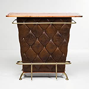 Lounge house bar table counter minibar design furniture cocktailbar vintage brown from Home bar furniture amazon