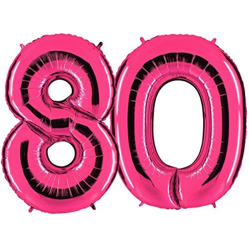 80 geburtstag 2017 vergleiche und bestellen der besten for Dekoration 80 geburtstag