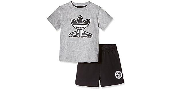 8c9e2c6459bb9 adidas Ensemble T-Shirt Short Motif Chaussure de Foot pour Enfant   Amazon.fr  Sports et Loisirs