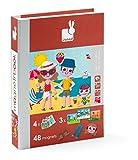 Best La creatividad para niños de 1 año Libros - Janod - Magnetibook de las 4 estaciones, libro Review