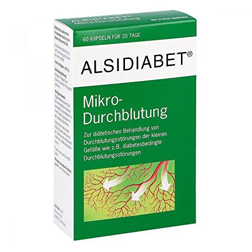 Alsidiabet Mikro-Durchblutung, 60 St. Kapseln (Diabetiker Kapseln)