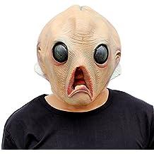Skull Dead Skull Mask - Perfecto para Carnaval, Halloween y Carnaval - Disfraz de Adulto - Látex, unisexo Talla única