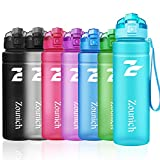 ZOUNICH Sport Trinkflasche BPA frei Auslaufsicher Wasserflasche 500ml/700ml/1L Kunststoff Geeignet Sporttrinkflaschen für Joggen, Fahrrad, Kinder Schule,öffnen mit Einer Hand Trinkflaschen mit Filter