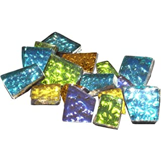 Mosaic Mercantile Crafter's Cut Mosaic Tiles .5lb-Assorted Sparkle